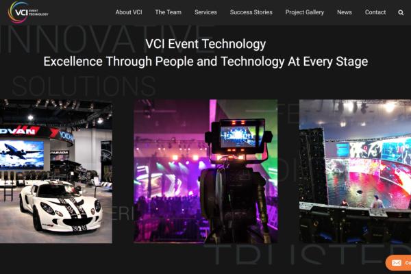 VCI Website Refresh